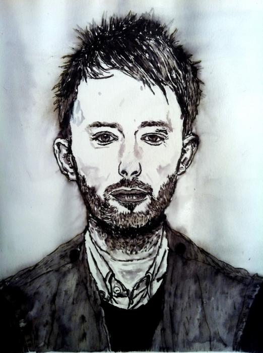 Thom Yorke by maximuslevrai